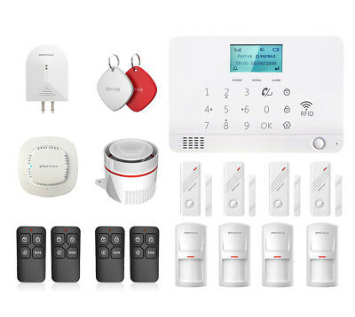 Wolf-Guard Wireless MR1 LCD GSM Home Security Burglar Alarms System Standard Kit