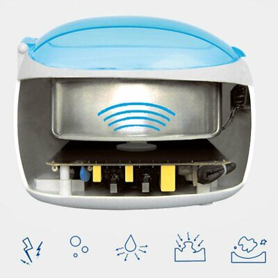 Ultrasonic Multi Purpose Jewellery Watch Cleaner Sonic Wave Cleaning MachiL0