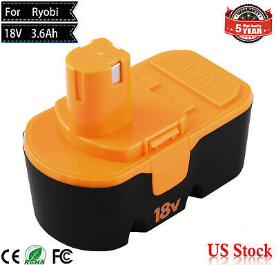 18V 3600mAh Upgraded P100 Replacement for Ryobi Battery ONE+P101 ABP1801 ABP1803