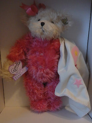 Annette Funicello Bears Annette Funicello Teddy Bear Bubbles Bath Collectors Plush Bear With Kitten Coa