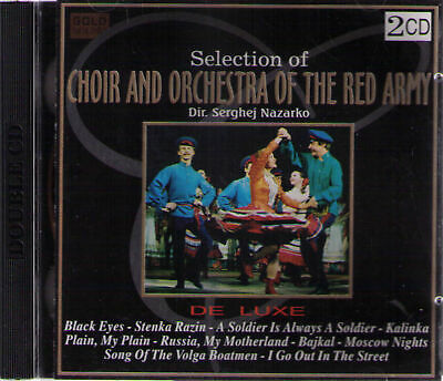 Selection of CHOIR AND ORCHESTRA OF THE RED ARMY |  2-CD-Album