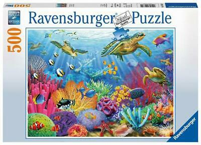 Ravensburger Tropical Waters - Puzzle (500-Piece) Free Shipping!