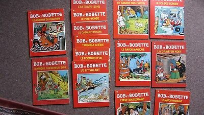"Lot de 13 album de ""Bob et Bobette"""