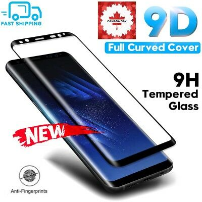 9D Full Cover Tempered Glass Screen Protector For Samsung Galaxy S8 S9+ Note 8 9
