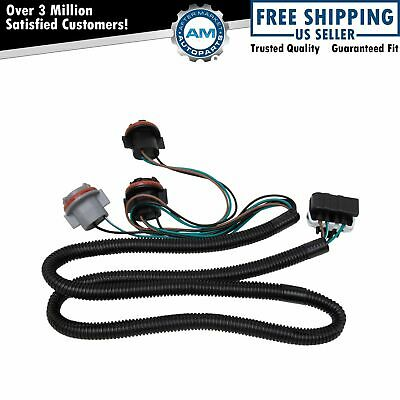 Tail Light Lamp Wiring Harness Driver LH for Chevy Silverado Pickup Truck New