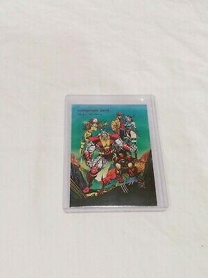 1991 Comic Images Jim Lee Autograph Card