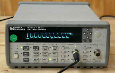 Agilent Keysight 53132A Universal Frequency Counter 12-Digitys, Guaranteed GOOD