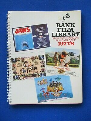 Rank Film Library - 16mm Entertainment Films Catalogue 1977-78