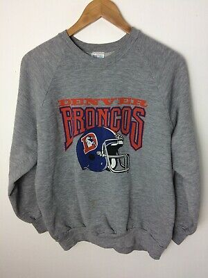 save off e71cf 7b897 VINTAGE 80S DENVER Broncos NFL Cliff Engle Sweater - Mens ...
