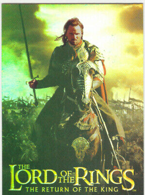Lord Of The Rings The Return Of The King Box Topper Foil Card #2