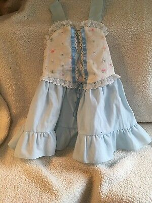 Vintage Evy Toddler Sundress 2T From 1988