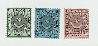 Turkey Local post Postal stamp 1-10- note-> nice