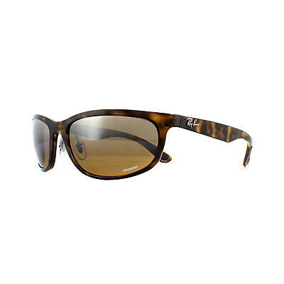 57db112b5f Ray-Ban Sunglasses RB4265 710 A2 Tortoise Brown Mirror Chromance Polarized