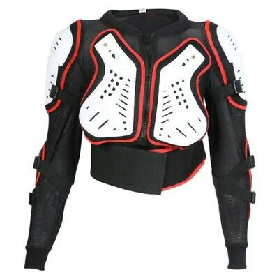 Texpeed Childrens / Kids Sports Body Armour Jacket With Removable Back Protector