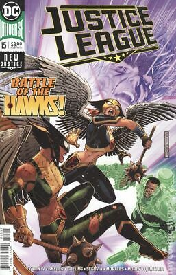 Justice League of America #15B 2017 Mahnke Variant NM Stock Image