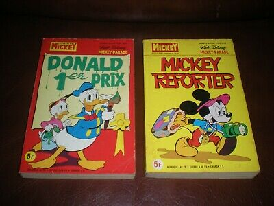 Lot 2 Mickey Parade Hors Serie N°1355 Bis Et 1336 Bis 1978