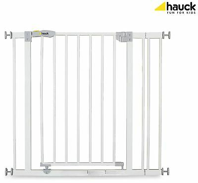 Hauck OPEN N STOP SAFETY GATE + 9CM EXTENSION WHITE Baby/Child Safety BN