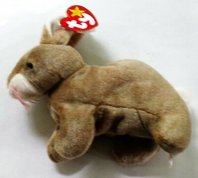 """Ty Beanie Baby """"Nibbly the Rabbit"""" - Style #4217 - New w/ Tags"""
