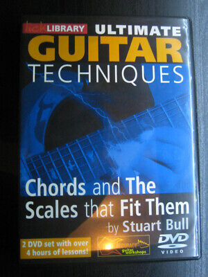 Ultimate Guitar Technique Chord and Scales that fit themGitarren Lernkurs von Li