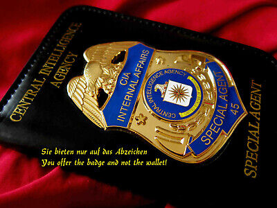 q7/ Historisches police badge + CIA Internal Affairs, Special Agent