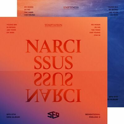 SF9 Narcissus 6th Mini Album CD+Booklet+PhotoCard+Etc+Tracking Num