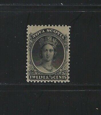NOVA SCOTIA - #13 - 12 1/2c QUEEN VICTORIA MINT NEVER HINGED STAMP (1860) MNH