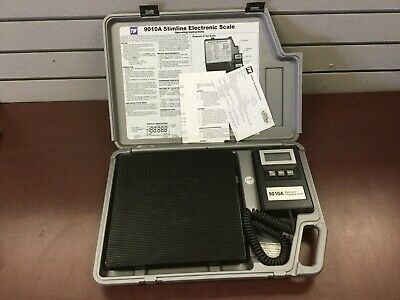 TIF 9010A Slimline Refrigerant Electronic Charging Scale In Case