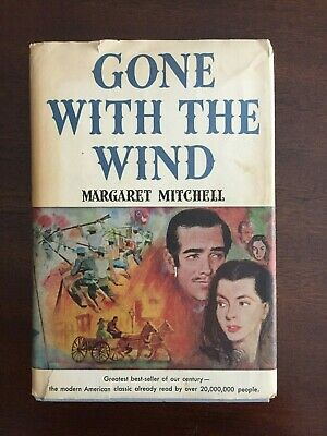 Margaret Mitchell GONE WITH THE WIND Book Club Edition