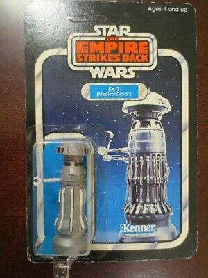 MOC Vintage Star Wars ESB 31 Back  FX-7 Unpunched