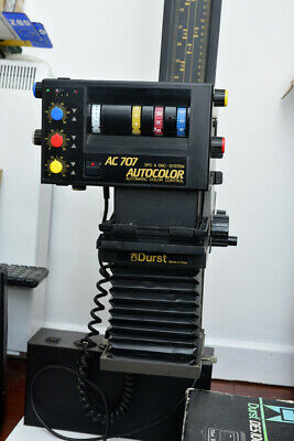 Durst Ac707 Enlarger Complete With Universal  Carrier