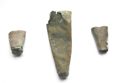 14th-17th Century Dragger Bronze Capes Ends