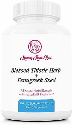 Fenugr1ek And Blessed Thistle Lactation Supplement For Breastfeeding Mothers