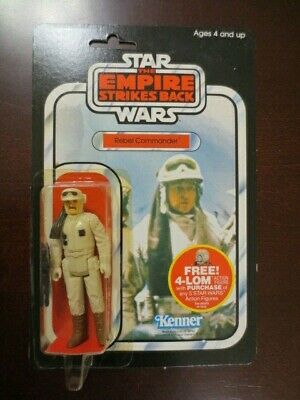 MOC Vintage Star Wars ESB 47 Back Rebel Commander Punched