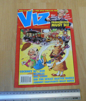 Viz Issue 84 with London Taxi on Front