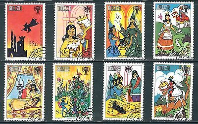 Belize  - Set of 1980 Sleeping Beauty Stamps..........P0........P 8D14