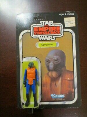 MOC Vintage Star Wars ESB 41 Back Walrus Man Unpunched