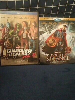 Doctor Strange Blu-Ray +DVD and Guardians Of The Galaxy Vol. 2