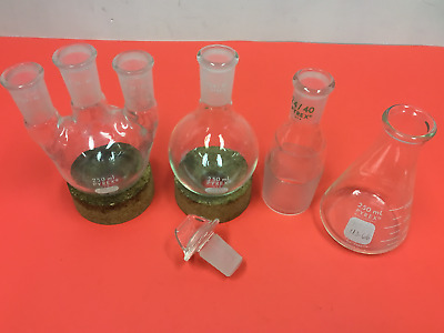 Pyrex - 7 pcs - 24/40 Laboratory Glassware - 250ML