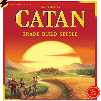 NEW Settlers of Catan Board Game 5th Edition - US Stock - Free Shipping