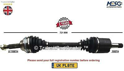 Drive Shaft Axle Fits For Renault Laguna 1.8 1.9 2.0 2001-2007 Left Hand Side