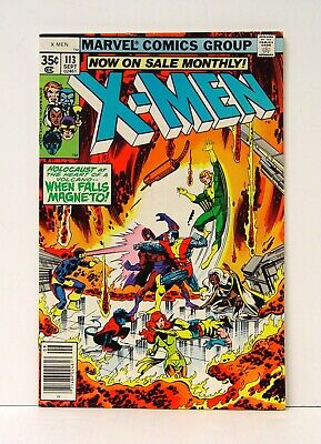X-MEN #113 (VF+ to NM) High Grade Marvel Bronze Age (5-Day Auction)