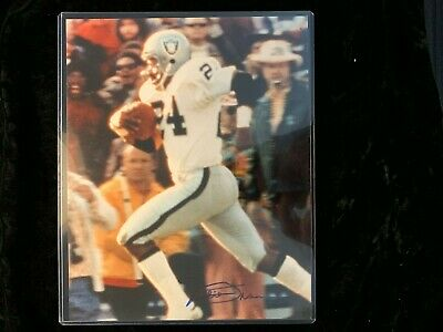 47f53d2a8 Willie Brown Raiders Autographed Signed 8x10 photo w  hard plastic sleeve