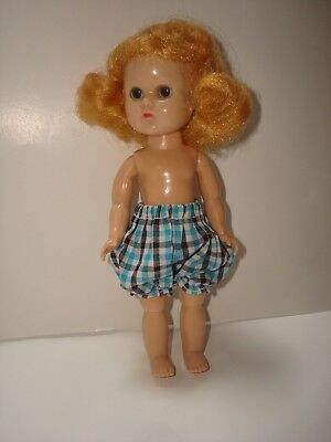 Vtg 1950s Ginny Vogue Doll Tiny Miss Bloomers #41-Fit Mdm Alex/Muffie/Ginger/8""