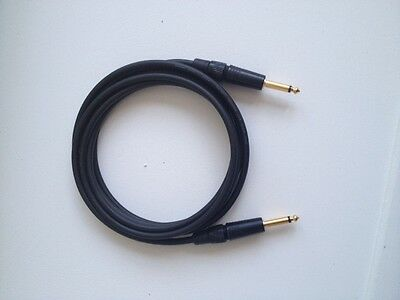 MOGAMI 2524 GUITAR CABLE GOLD SERIES 18', Neutrik Gold