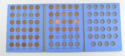 Complete 1941-58 Lincoln Wheat Cent Set - Includes 1943 Steel Cents! *984