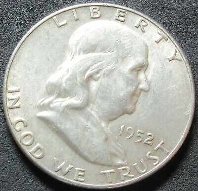1952-D Franklin Half Dollar Coin