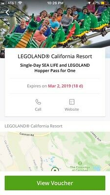 legoland california ticket