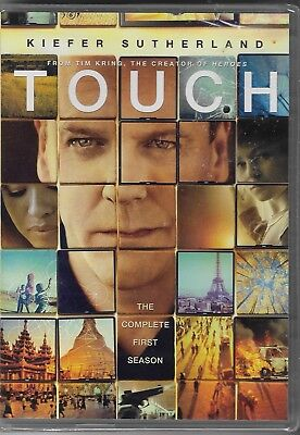 Touch: The Complete Season One (DVD, 2012, 3-Disc Set) Brand New Sealed