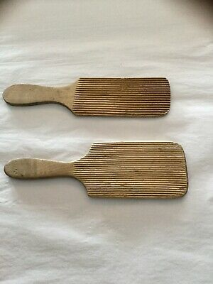 Vintage Wooden Butter Pats