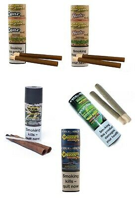 Cyclones 2-pack Xtra Slow Cone Blunts Pre Rolled Wraps Rolling Paper Cigarette